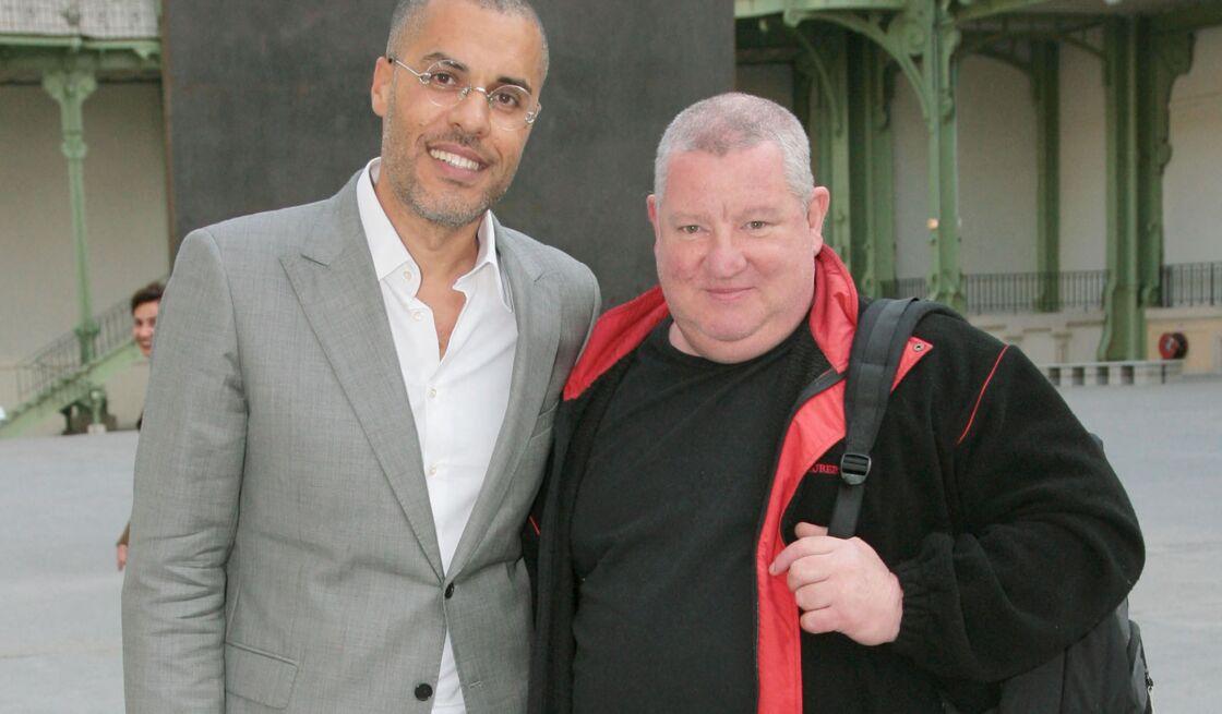 Kamel Menour et Claude Lévêque, le 20 mai 2008, à Paris
