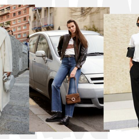 PHOTOS – Comment porter l'intemporel t-shirt blanc?