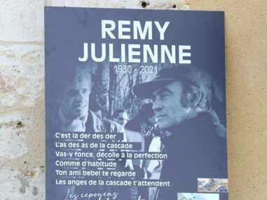PHOTOS - Obsèques de Rémy Julienne : Jean-Paul Belmondo absent, sa santé en cause