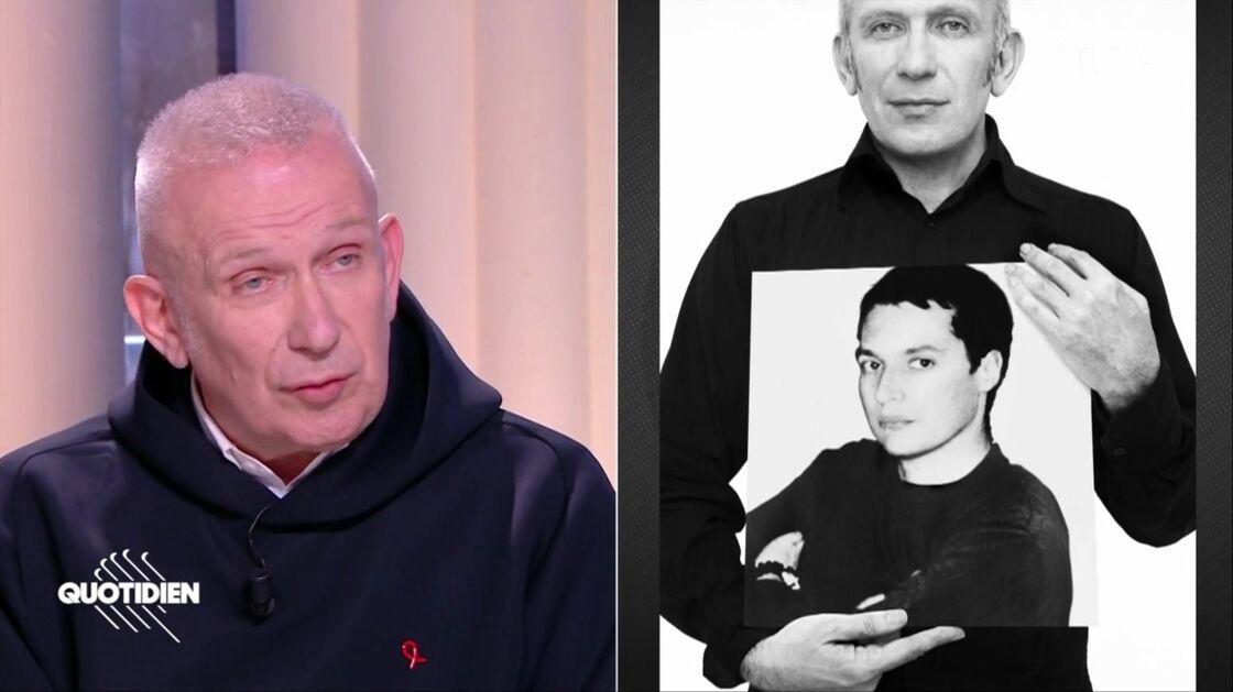 Jean Paul Gaultier se confie à propos de la mort de son compagnon, dans Quotidien, le 28 janvier 2021.
