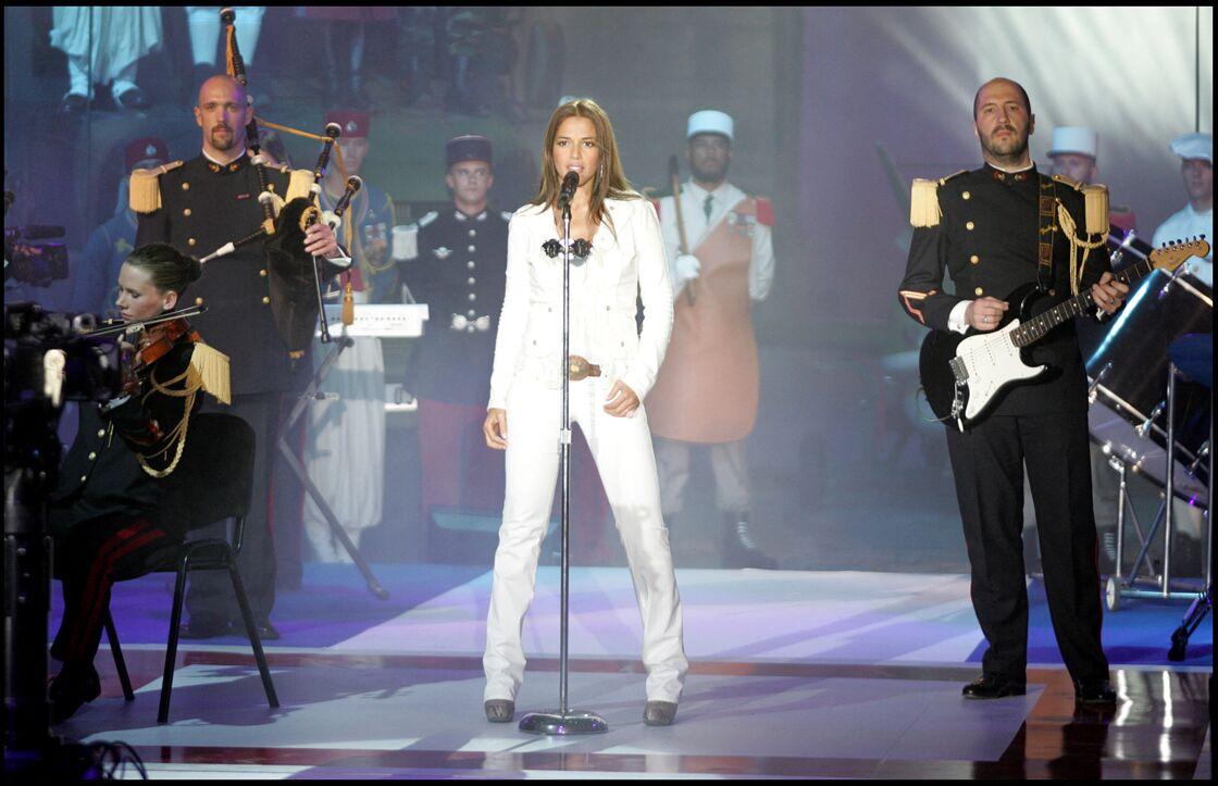 Nâdiya en promotion télé, en juillet 2009.