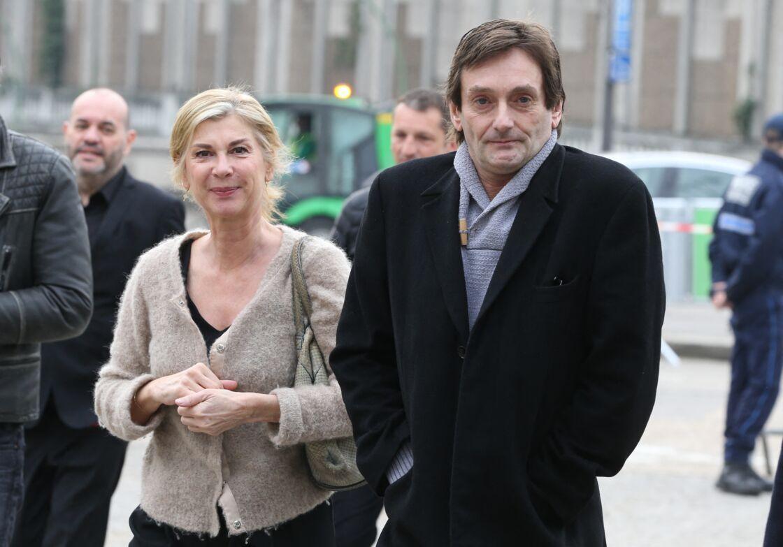 L'affaire Pierre Palmade, comme elle a été surnommée, a secoué les proches du comédien dont Michèle Laroque (ci-dessus aux obsèques de Véronique Colucci le 12 avril 2018)