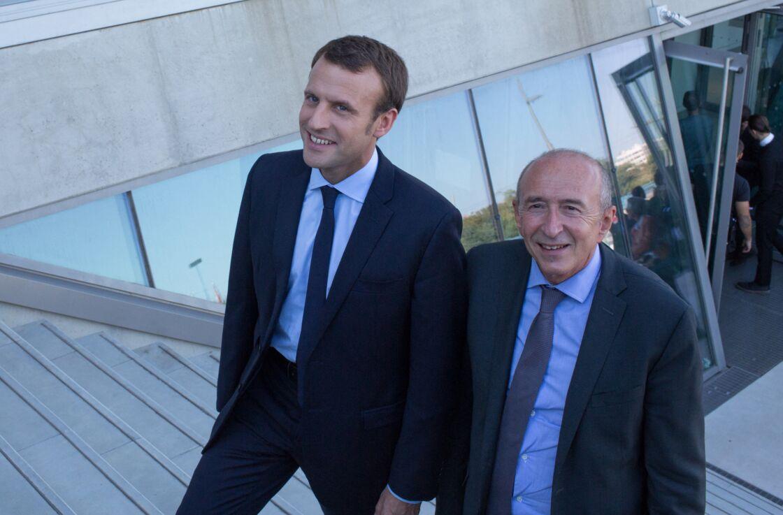 Emmanuel Macron a pu compter sur les précieux conseils de son aîné Gérard Collomb