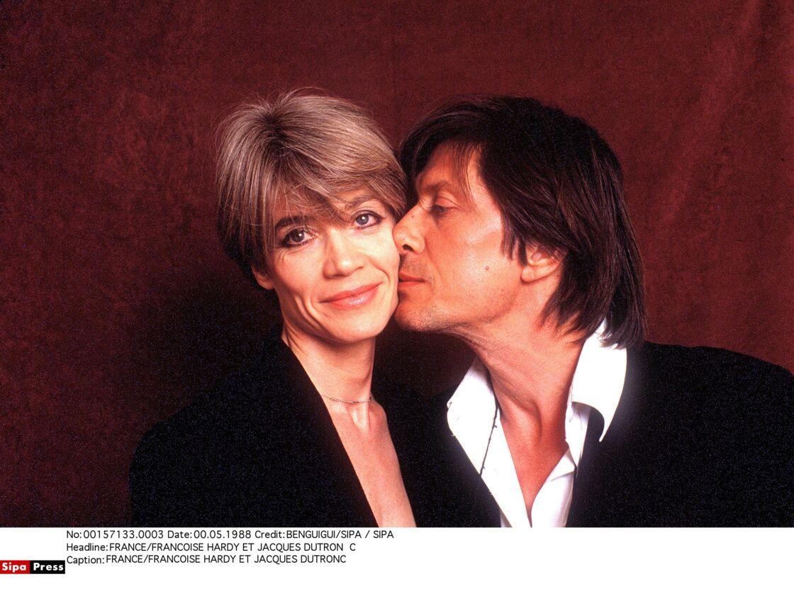 Françoise Hardy et Jacques Dutronc en mai 1988