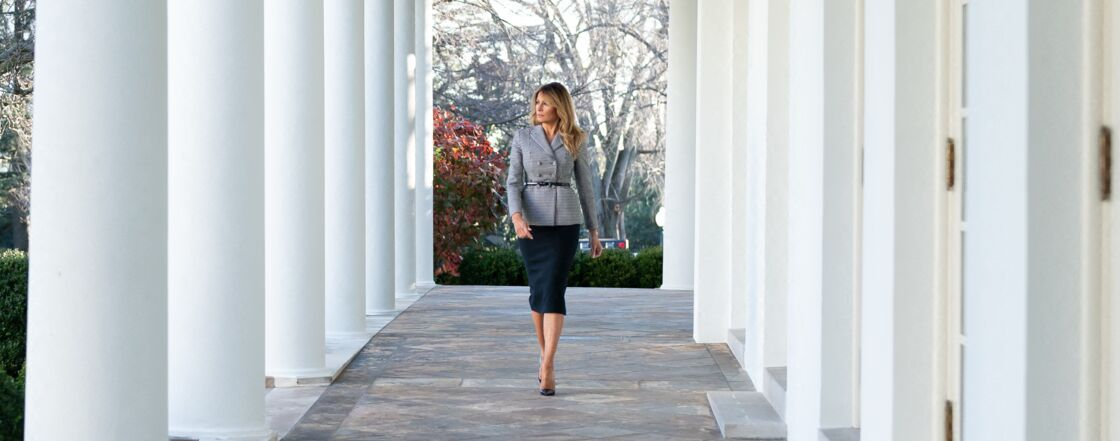 Melania Trump à la Maison-Blanche, le 17 décembre 2020.