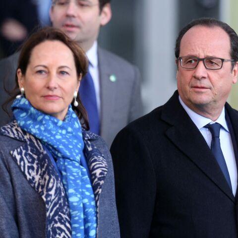Ce banc mystérieux sur lequel François Hollande attendait Ségolène Royal