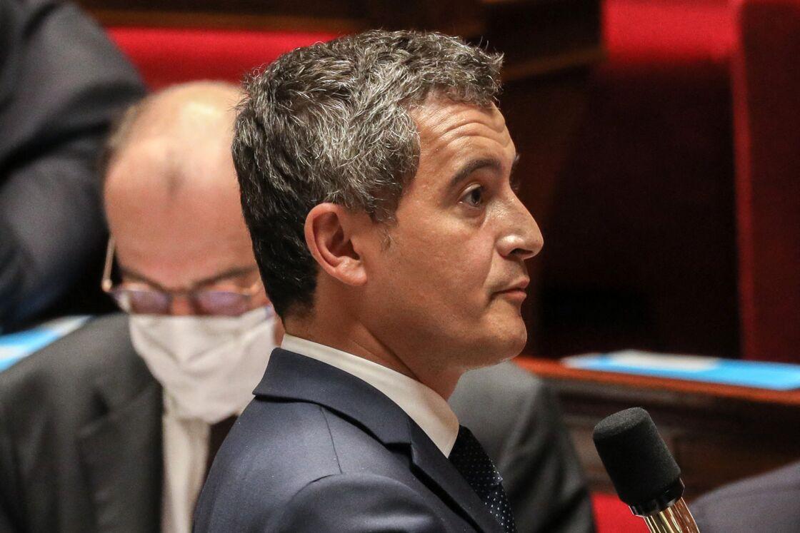 Gérald Darmanin à la séance de questions au gouvernement à l'Assemblée nationale, le 15 septembre 2020.
