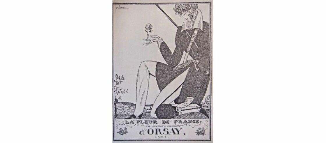 Une publicité pour les Parfums d'Orsay datant de 1919
