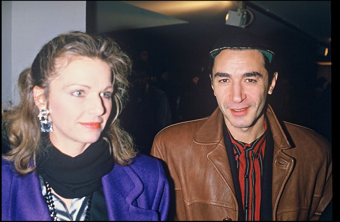 Richard Berry et Jeane Manson en couple entre 1984 et 1986.