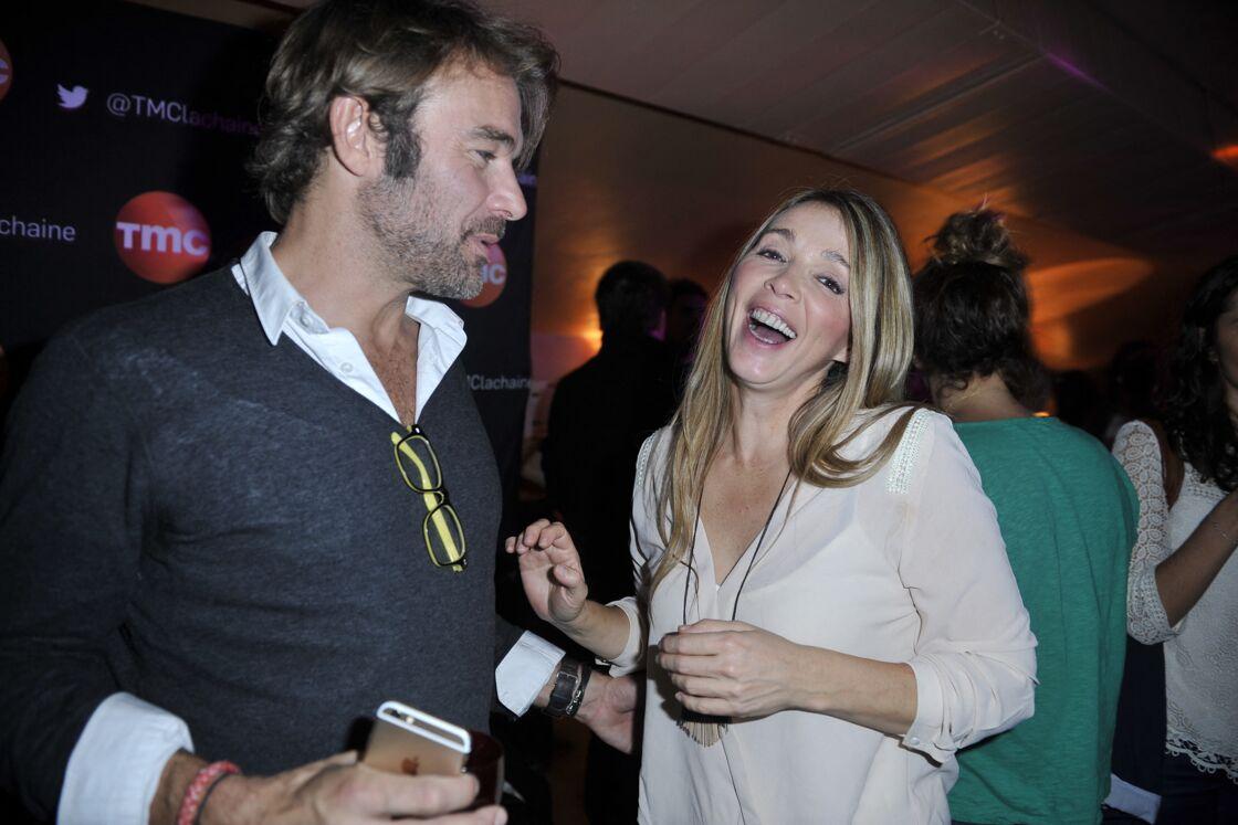 Patrick Puydebat et Hélène Rollès au Divan du monde le 4 novembre 2014