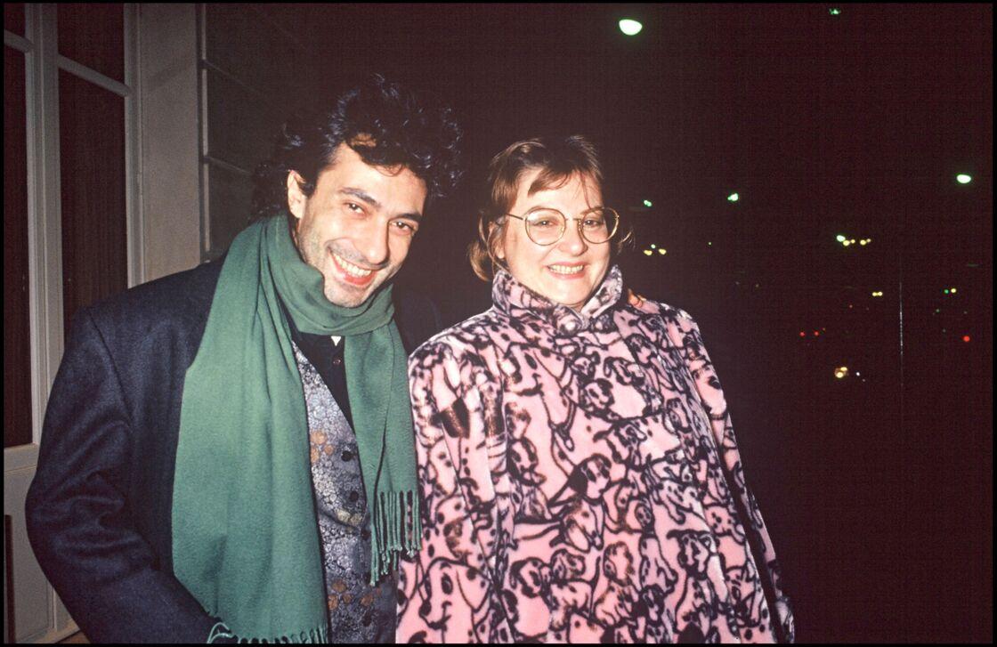Philippe Berry et Josiane Balasko en 1990
