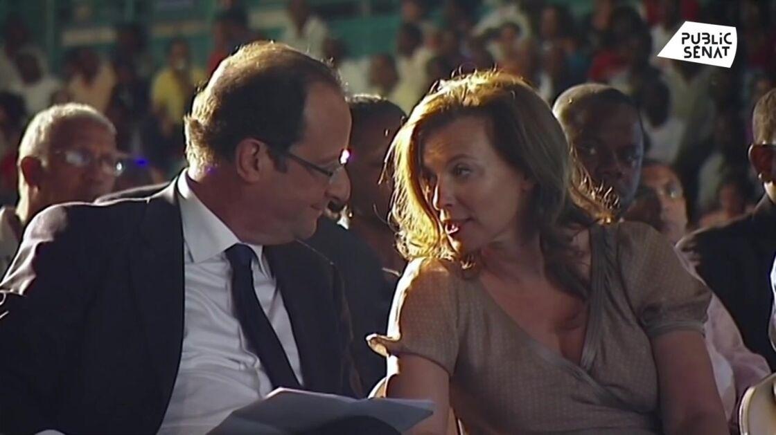 En arrivant à l'Élysée au bras de François Hollande, Valérie Trierweiler a rapidement compris que sa vie privée n'existerait plus.