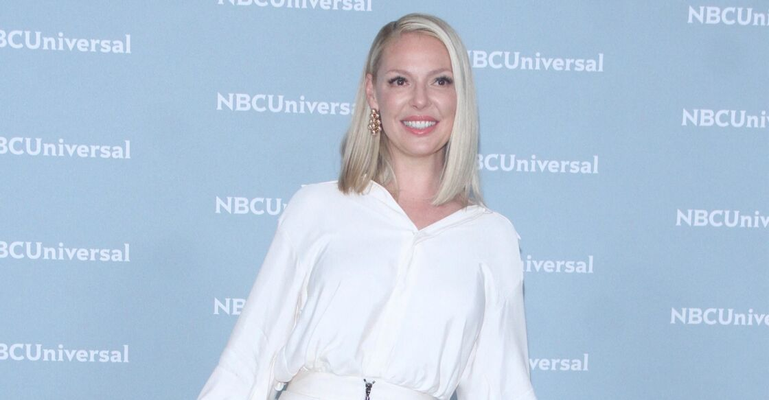 Katherine Heigl - People a la soirée NBCUniversal Upfront 2018 a New York, le 14 mai 2018.
