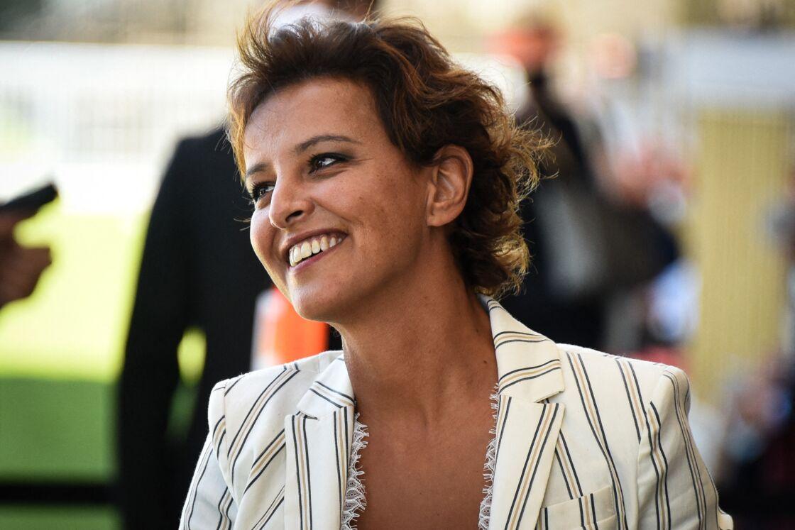 Najat Vallaud Belkacem (directrice France de l'ONG ONE et ancienne ministre) - Le MEDEF tient sa REF annuelle (Rencontre des Entrepreneurs de France) à l'Hippodrome de Longchamps le 27 août 2020.