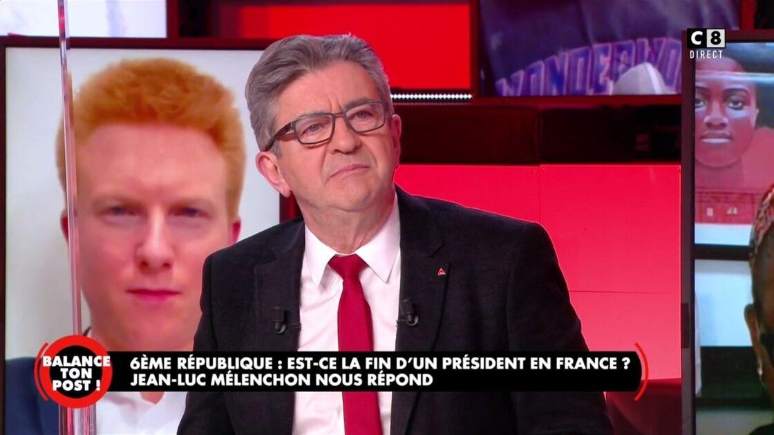 Jean-Luc Mélenchon invité de Balance ton post de Cyril Hanouna, ce jeudi 11 février 2021.