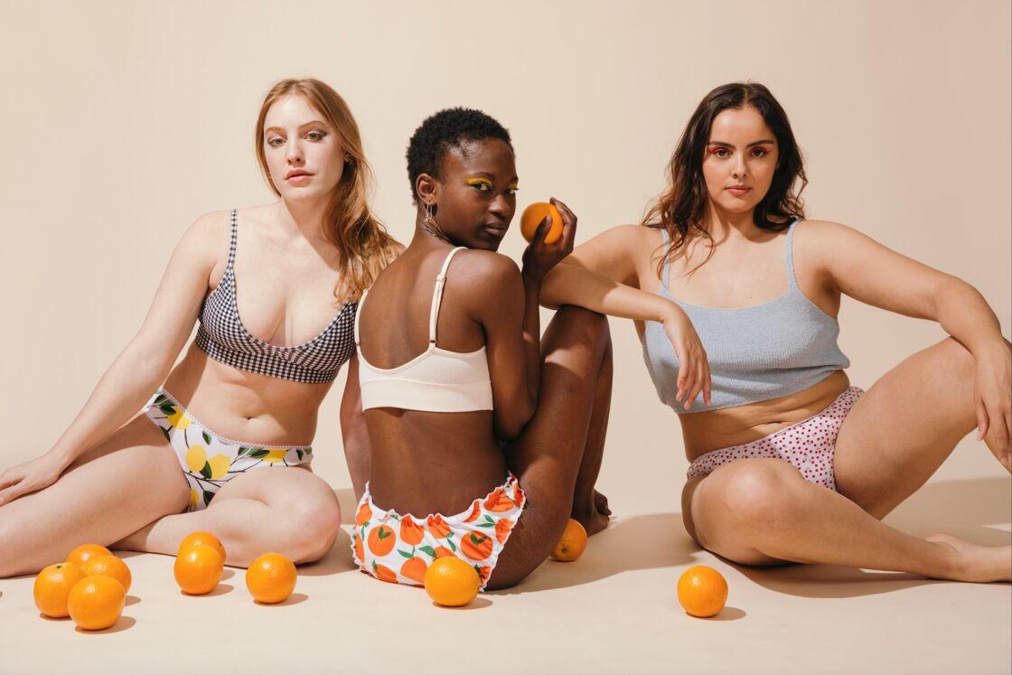 La bloomer coton bio Orange est à 15€ sur Jolies Culottes