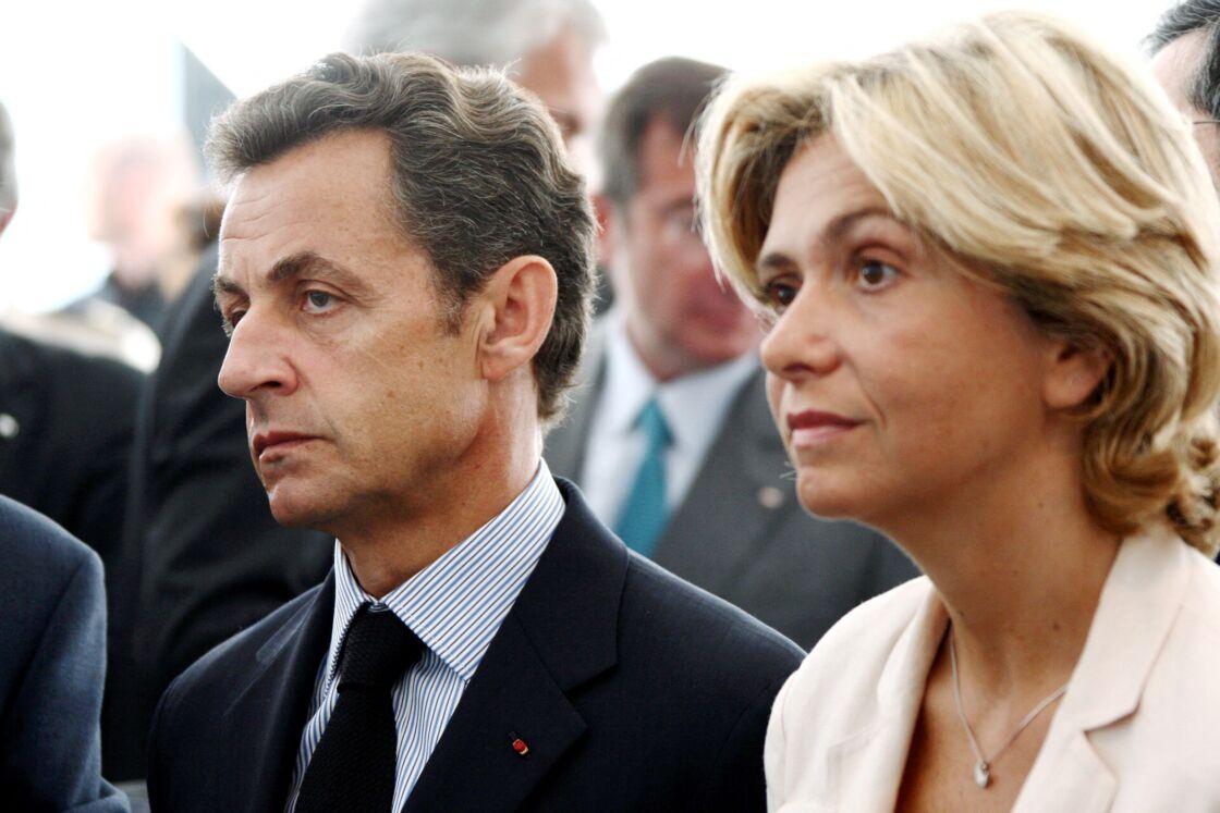 Nicolas Sarkozy et Valérie Pécresse en 2009, à Paris