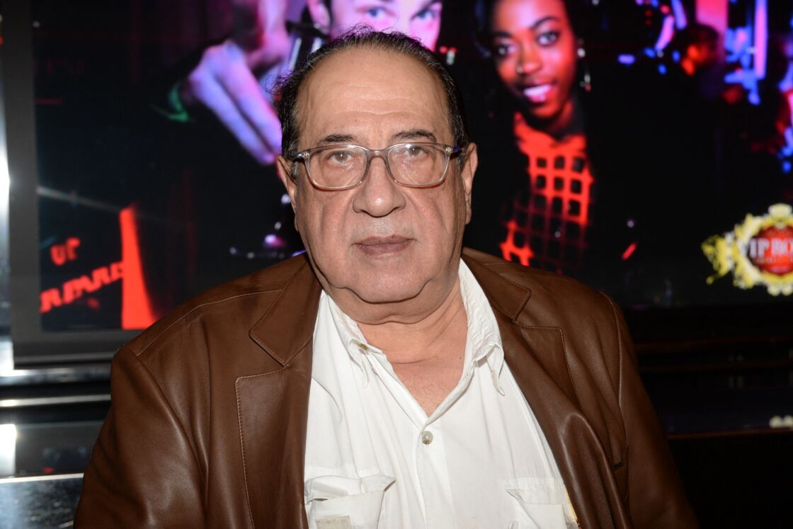 Jean-Luc Azoulay lors d'une soirée au restaurant
