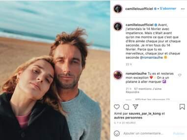 "PHOTOS - Camille Lou folle amoureuse et ""en manque"" de son chéri Romain"