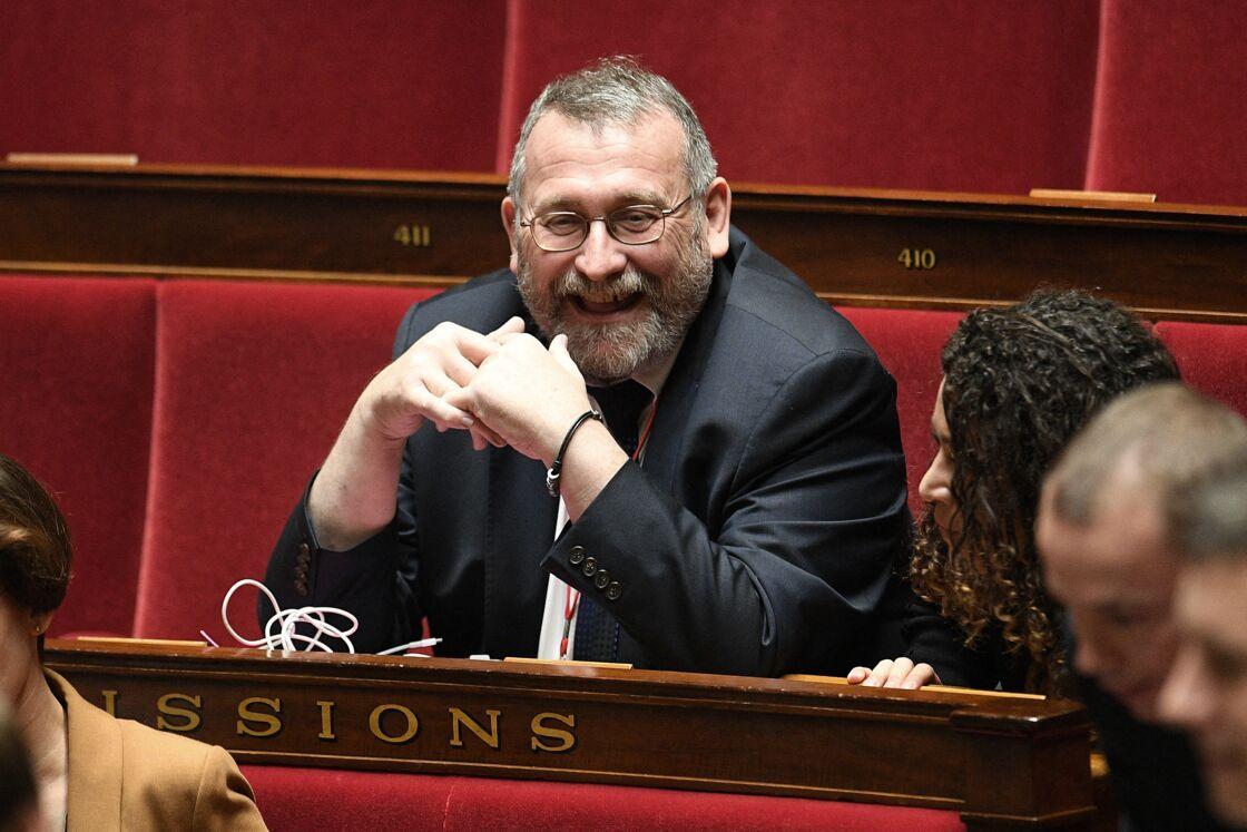 Joël Giraud à l'Assemblée nationale le 7 janvier 2020