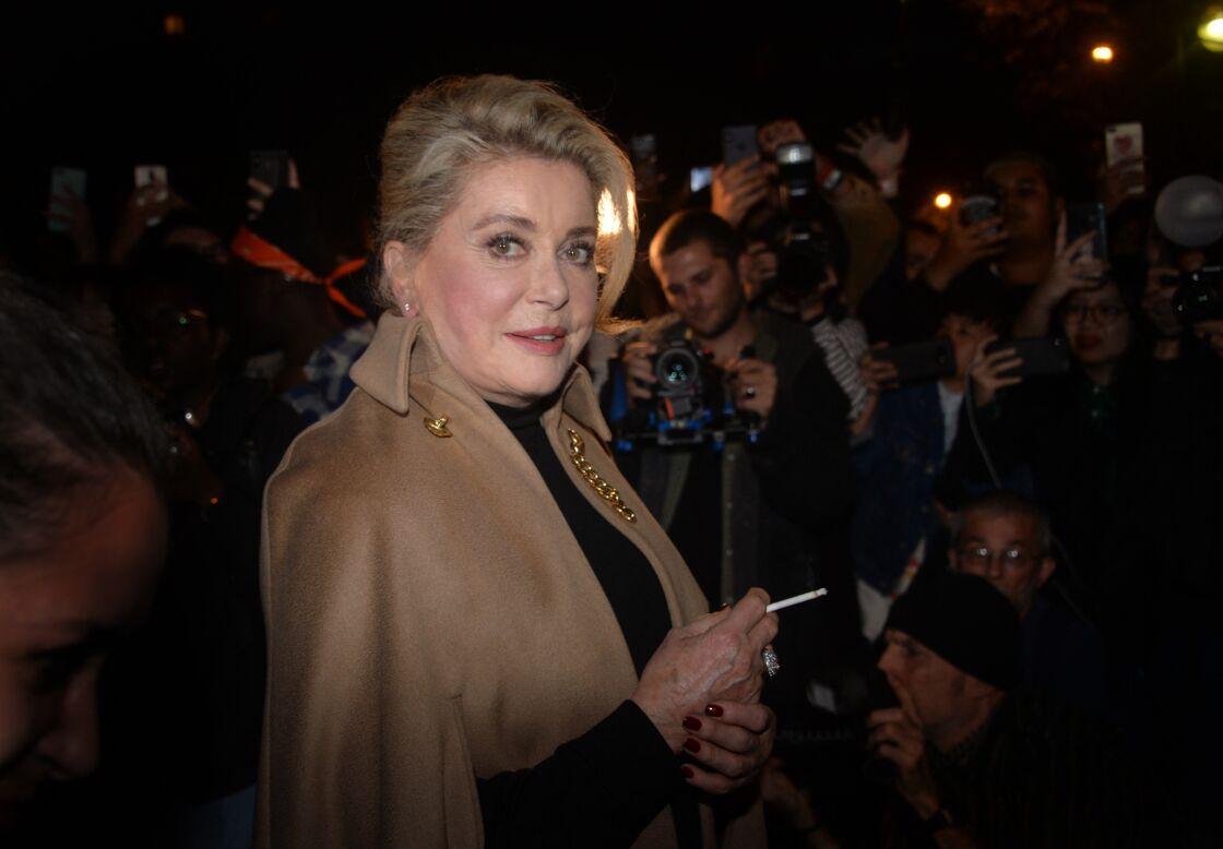 Catherine Deneuve à Paris le 27 septembre 2019