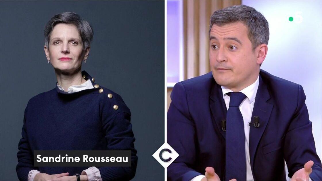 Gérald Darmanin a répondu à Sandrine Rousseau ce mercredi 17 février dans C à Vous