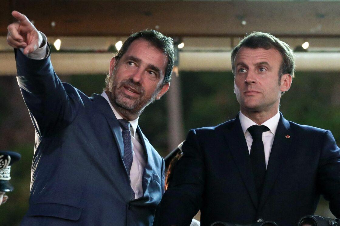 Depuis l'élection présidentielle de 2017, Christophe Castaner a toujours conservé un lien étroit avec Emmanuel Macron, comme le démontre cette photo prise à Mayotte, lors d'une rencontre avec la population, en octobre 2019.