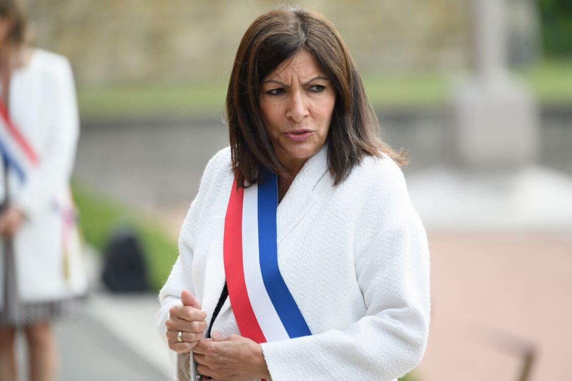 Anne Hidalgo à Suresnes le 18 juin 2020