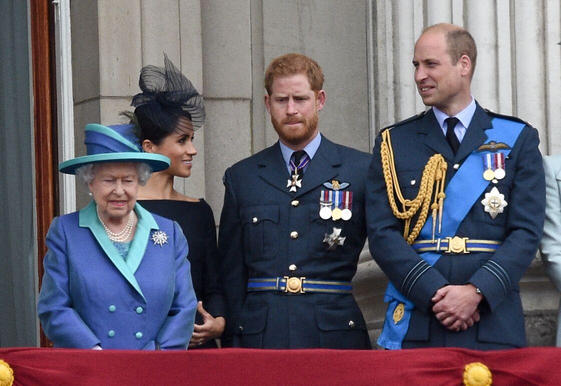 La reine attristée