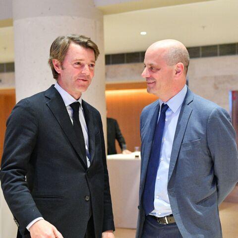 François Baroin s'interdit de critiquer Emmanuel  Macron… pour son ami Jean-Michel Blanquer
