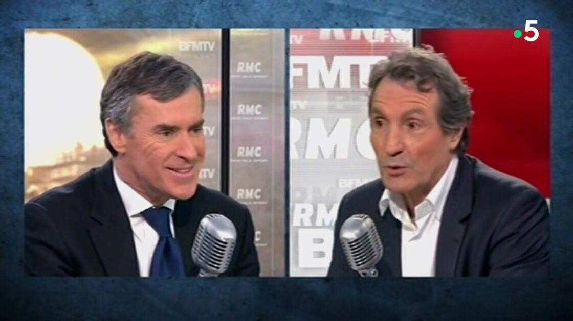 Jérôme Cahuzac face à Jean-Jacques Bourdin, sur RMC