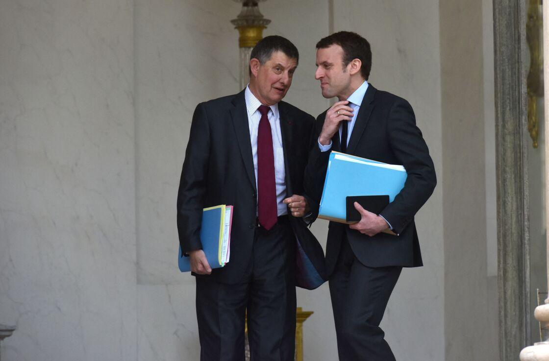 Très proches, Jean-Pierre Jouyet et Emmanuel Macron finiront par couper les ponts