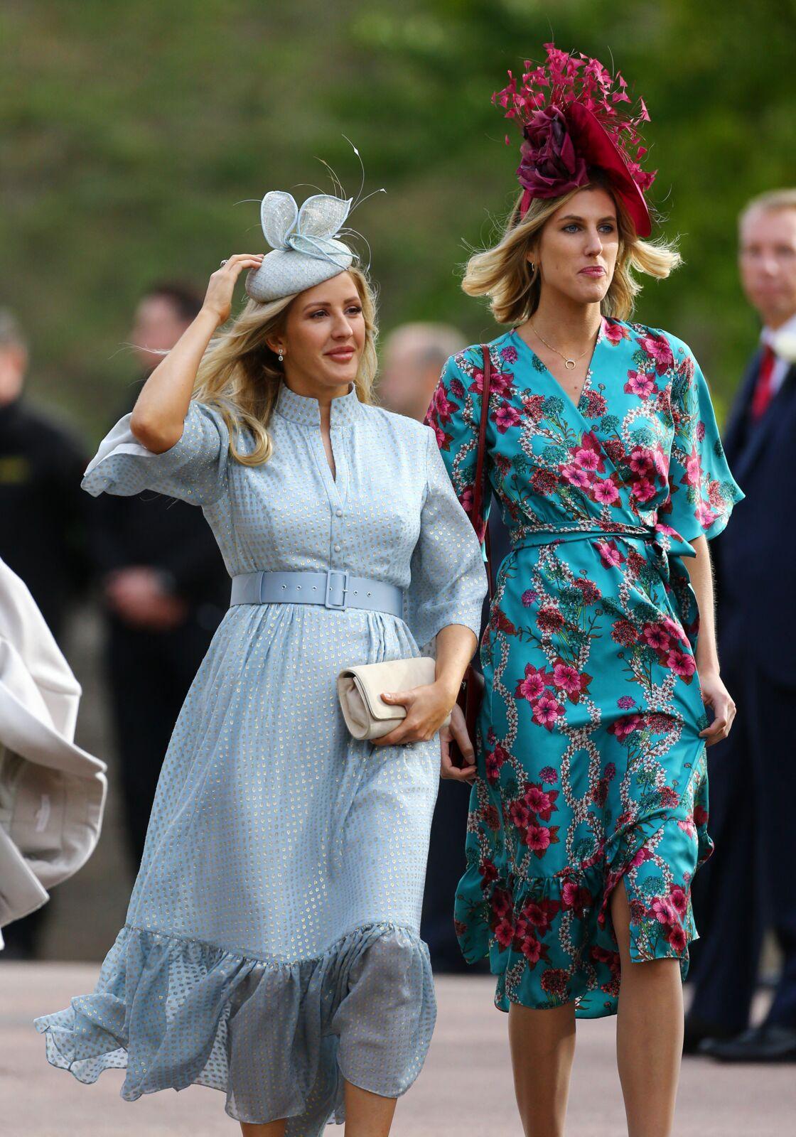 Ellie Goulding au mariage de la princesse Eugenie et de Jack Brooksbank le 12 octobre 2018 au château de Windsor