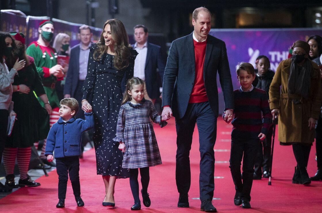 Kate Middleton, le prince William et leurs enfants George, Charlotte et Louis