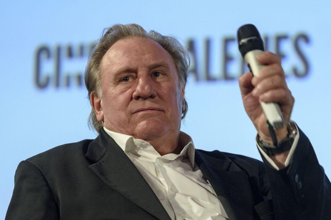 Gérard Depardieu reçoit la médaille de la ville de Bruxelles, le 26 juin 2018
