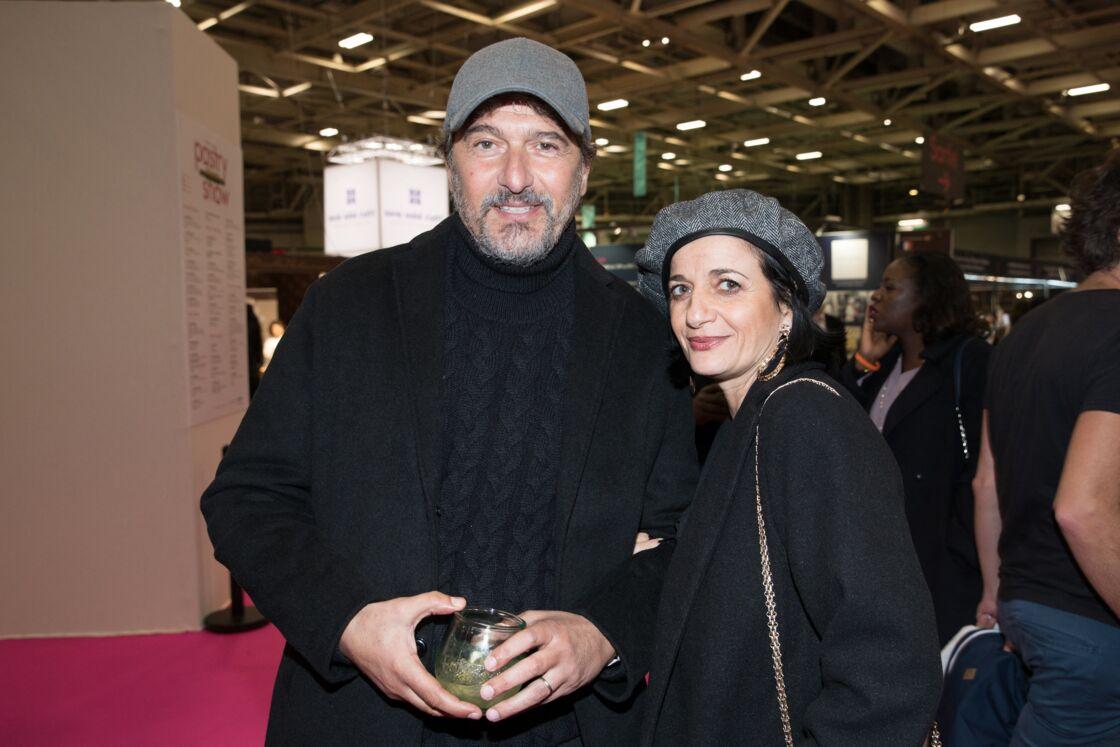 Daniel Lévi et son épouse Sandrine le 29 octobre 2019 à Paris