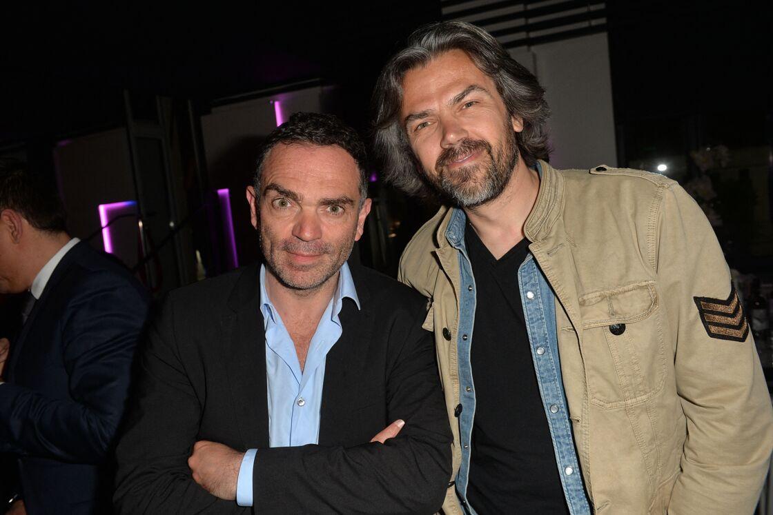 Yann Moix et Aymeric Caron, le 29 mai 2016 à Paris