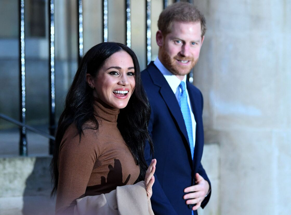 Meghan Markle et le prince Harry, ici en janvier 2020 à Londres, donnent quelques sueurs froides à la Couronne britannique.