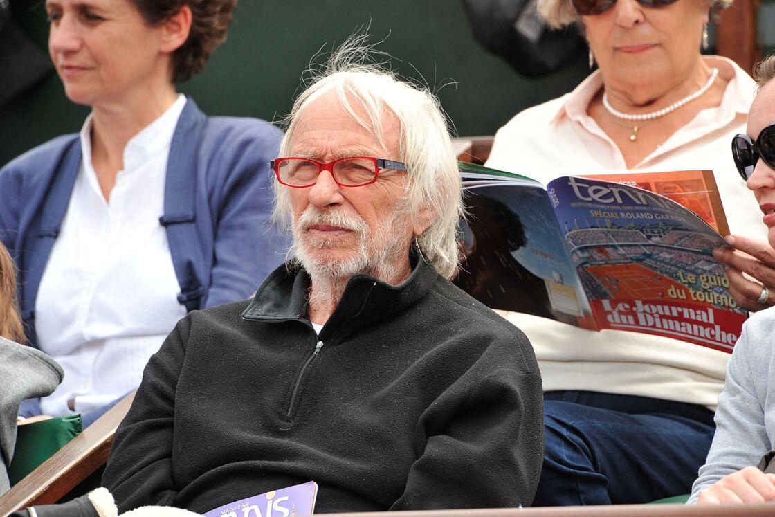 Pierre Richard le 29 mai 2014 au tournoir Roland-Garros à Paris