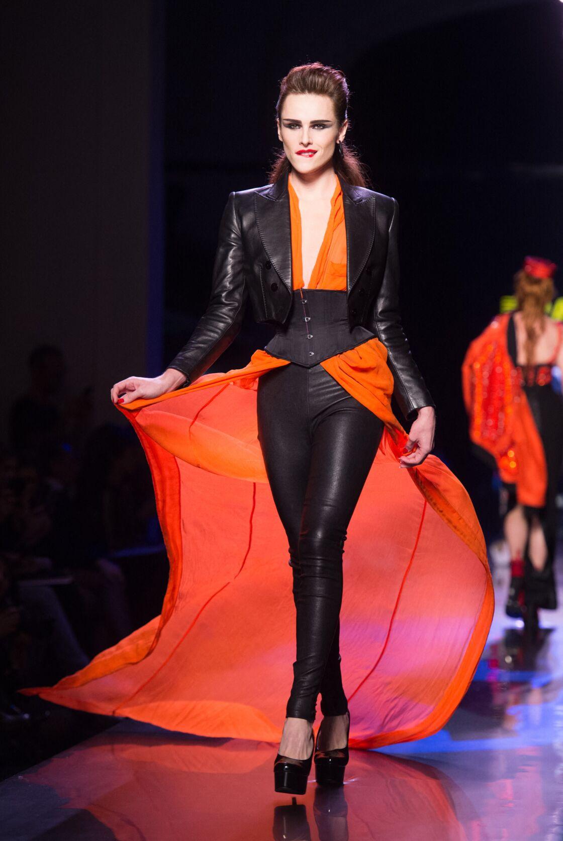 Alexandre Wetter, mannequin androgyne, réalise sont rêve et défile pour Jean Paul Gaultier en 2016