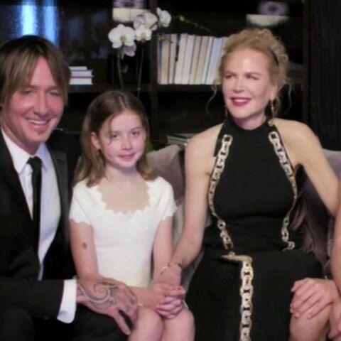 Nicole Kidman: ses deux filles font une rare apparition aux Golden Globes