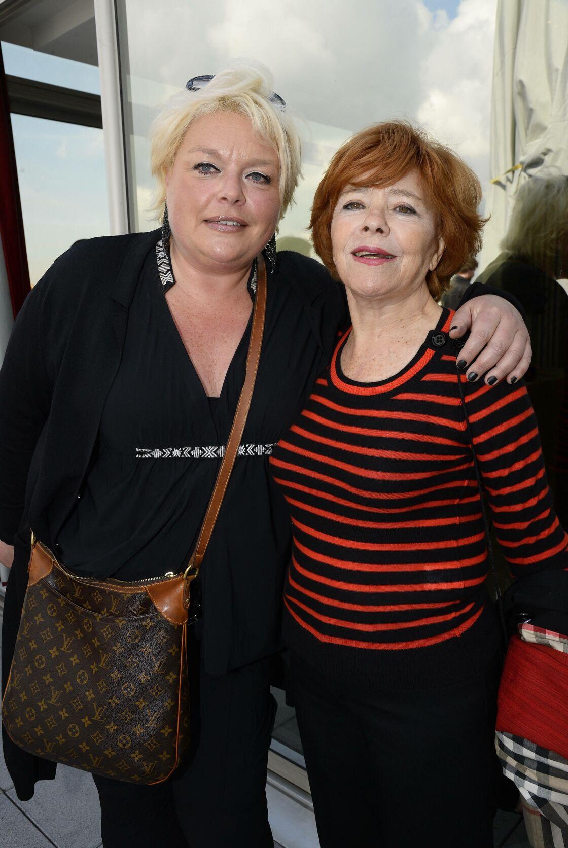 Jacqueline Chabridon (à droite) en 2014