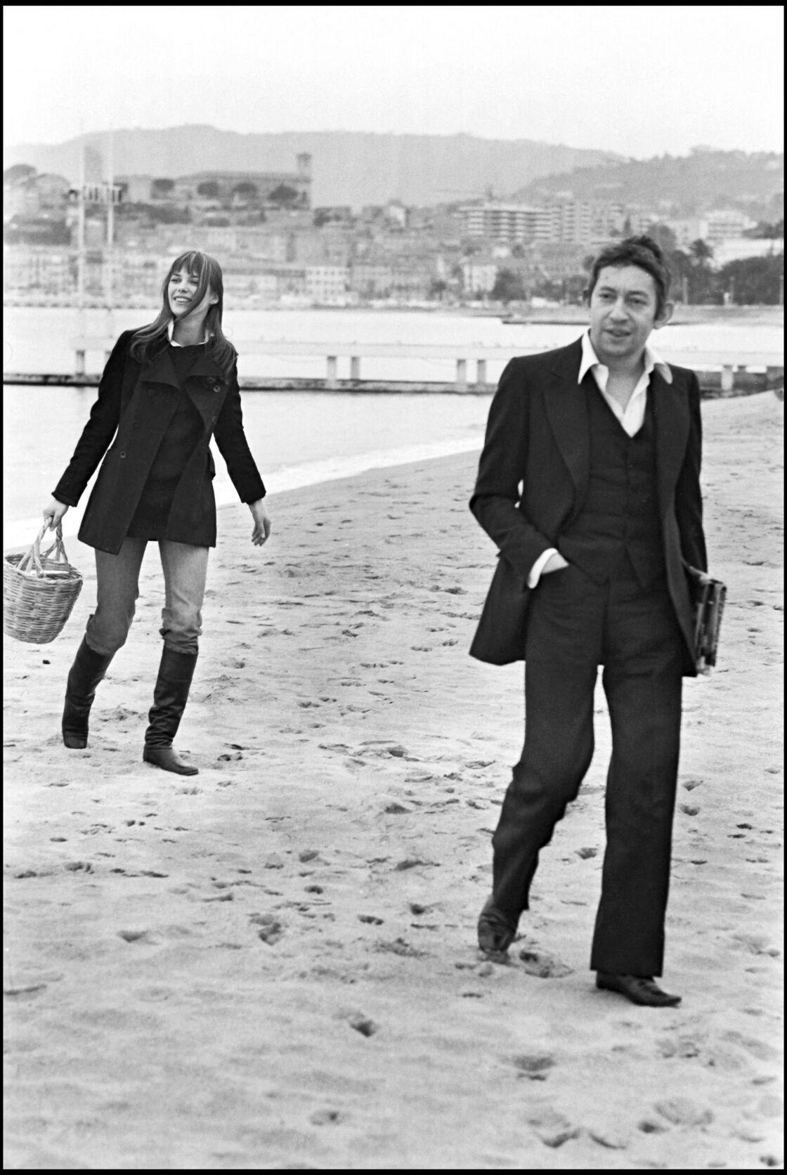 Serge Gainsbourg et Jane Birkin, le couple mythique des années 70