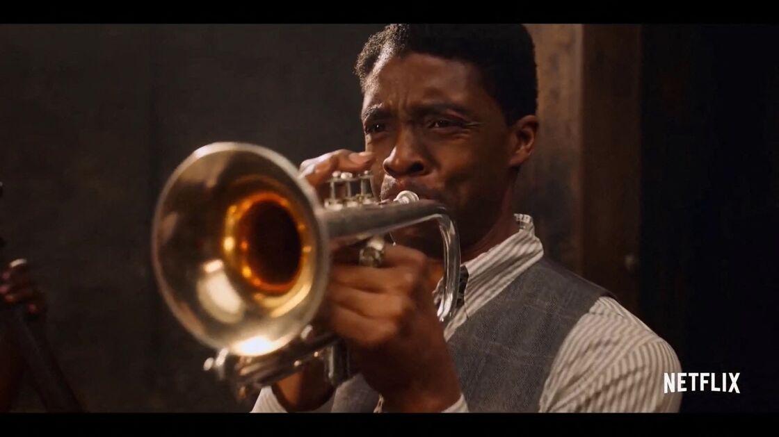 Chadwick Boseman et Viola Davis dans la bande annonce du nouveau film Netflix