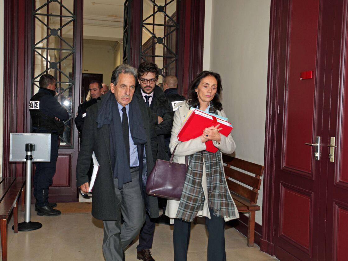 Pierre Haïk et Jacqueline Laffont en janvier 2015 au tribunal de Bordeaux