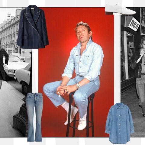 PHOTOS – Serge Gainsbourg: un style qui influence encore la mode féminine