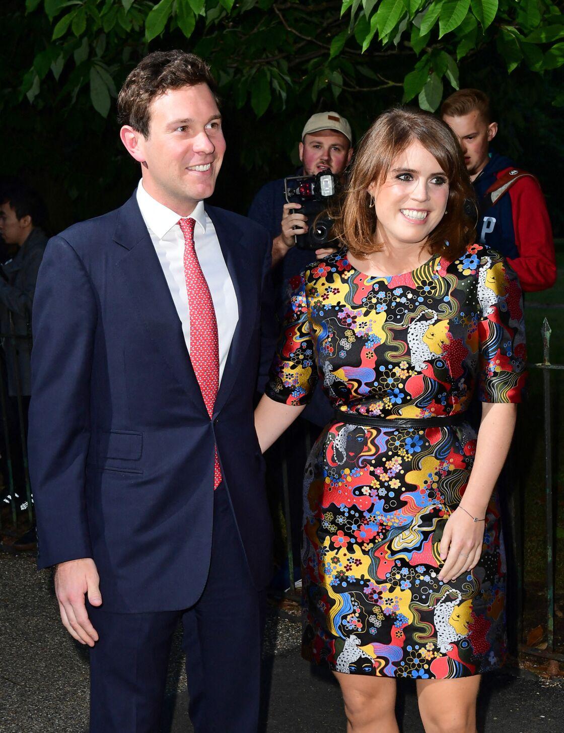 Princesse Eugenie et Jack Brooksbank en juin 2017