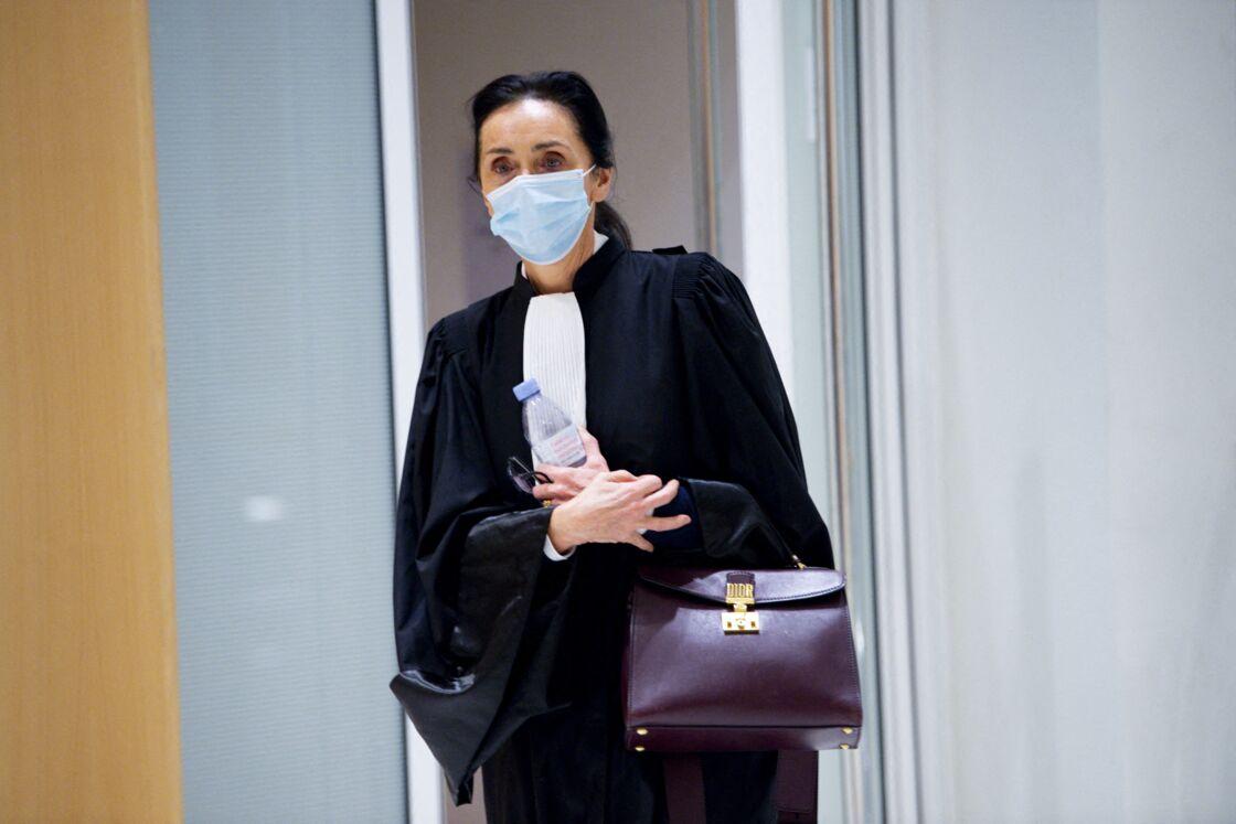 Jacqueline Laffont au procès de Nicolas Sarkozy en novembre 2020