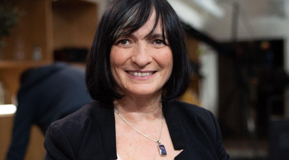 Muriel Salmona, psychotraumatologue et présidente de l'association Mémoire Traumatique et Victimologie - Shooting sur la chaine LCP à Paris, le 21 octobre 2019.
