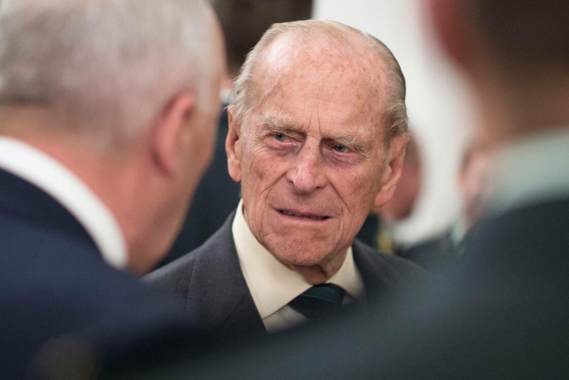 Le prince Philip à la Maison du Canada le 19 avril 2015